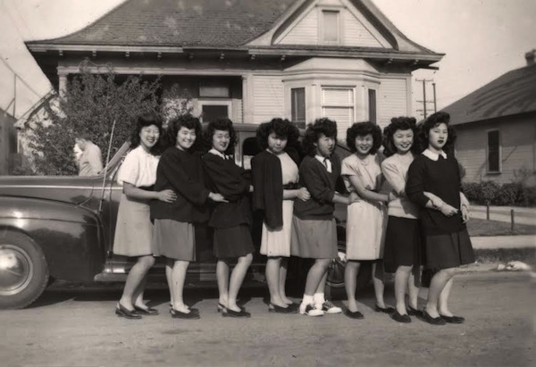 Boyle Heights, Just Us Girls Club, Los Angeles, Nisei, Japanese-American