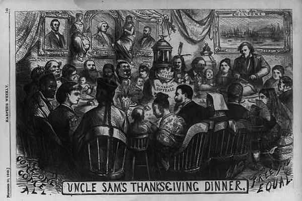 Thomas Nast, Library of Congress, Thanksgiving