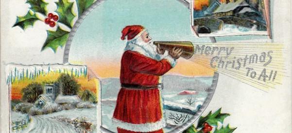 Daniel Gifford, Christmas, postcard