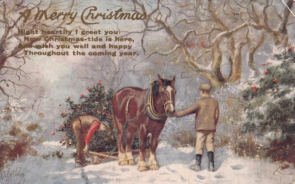 Christmas postcard (3)