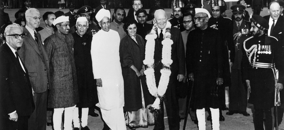 Dwight D. Eisenhower, Delhi, India
