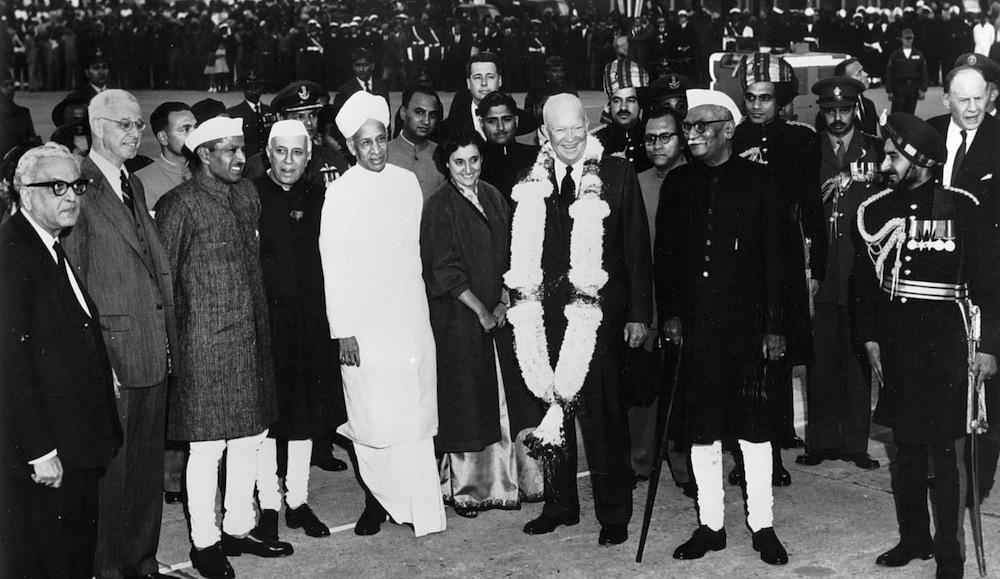Dwight D. Eisenhower, Delhi, India