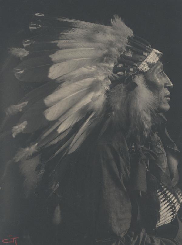 Chief Iron Tail, Gertrude Käsebier, Buffalo Bill
