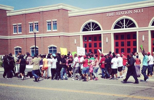 Ferguson, protest