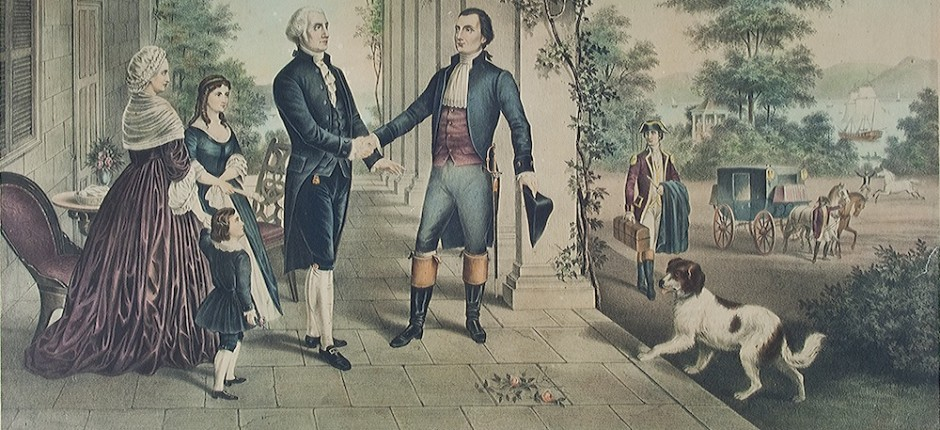 marquis de lafayette and george washington relationship with thomas