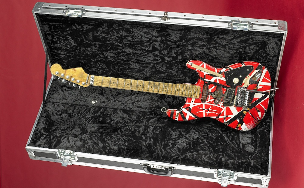 Frankenstein, Van Halen, electric guitar, Frank 2