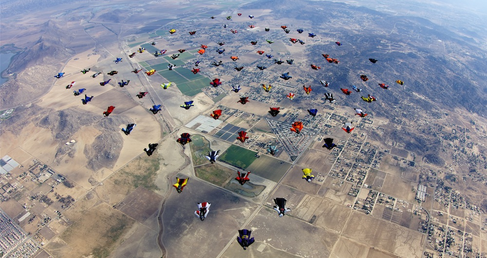 What's More American Than Skydiving?