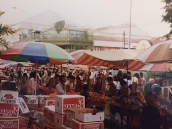 Kuala Lumpur street market