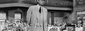 "** HOLD FOR RELEASE UNTIL 11 P.M. EDT -- FILE ** In this 1962 file photo,  actor Gregory Peck is shown as attorney Atticus Finch, a small-town Southern lawyer who defends a black man accused of rape, in a scene from  ""To Kill a Mockingbird."" The classic film was ranked second on the American Film Institute's list of inspirational films revealed Wednesday, June 14, 2006, during its annual top-100 film television special. (AP Photo)"