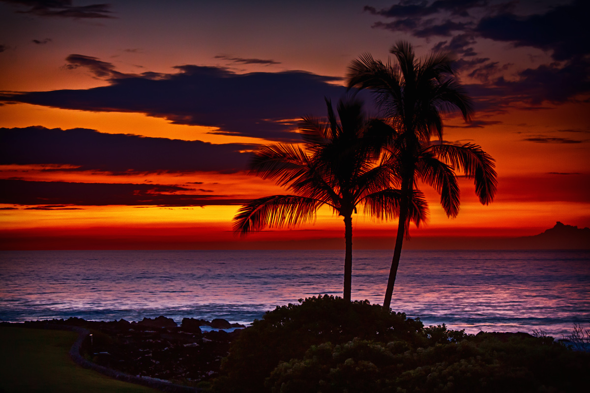 Sunset at Waikoloa