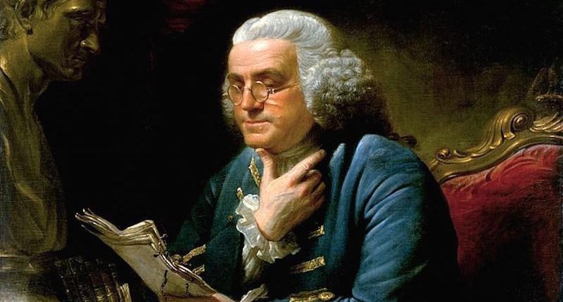 Benjamin Franklin in London image