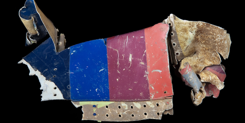 Yeh on Sept 11--1. Fuselage from Flight 93 Sept11