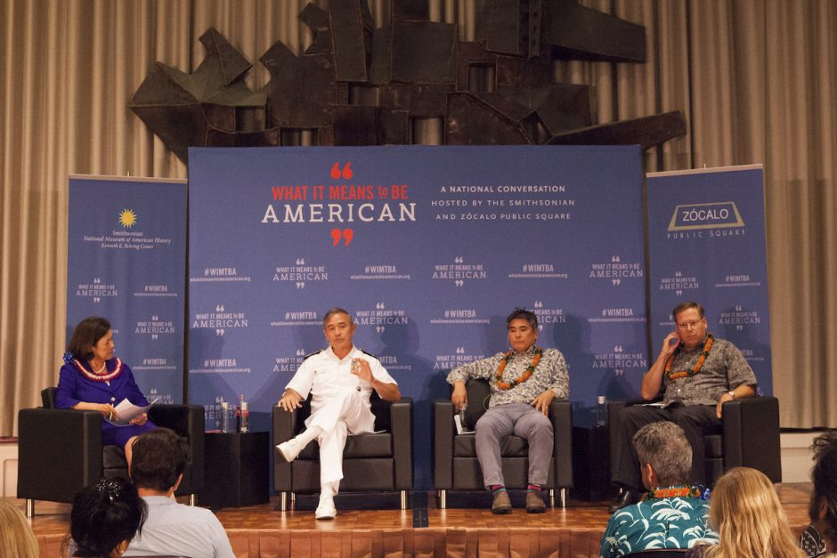"From a Smithsonian/Zócalo ""What It Means to Be American"" Event, ""What Role Will Hawaii Play in the Pacific Century?"""