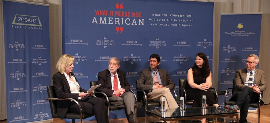 """From a Smithsonian/Zócalo """"What It Means to Be American"""" Event, """"Do We Still Know How to Be Good Citizens?"""""""