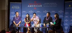 "From a Smithsonian/Zócalo ""What It Means to Be American"" event, supported by the Daniel K. Inouye Institute, ""Does Hawaii Have America's Strongest Sense of Identity?"""
