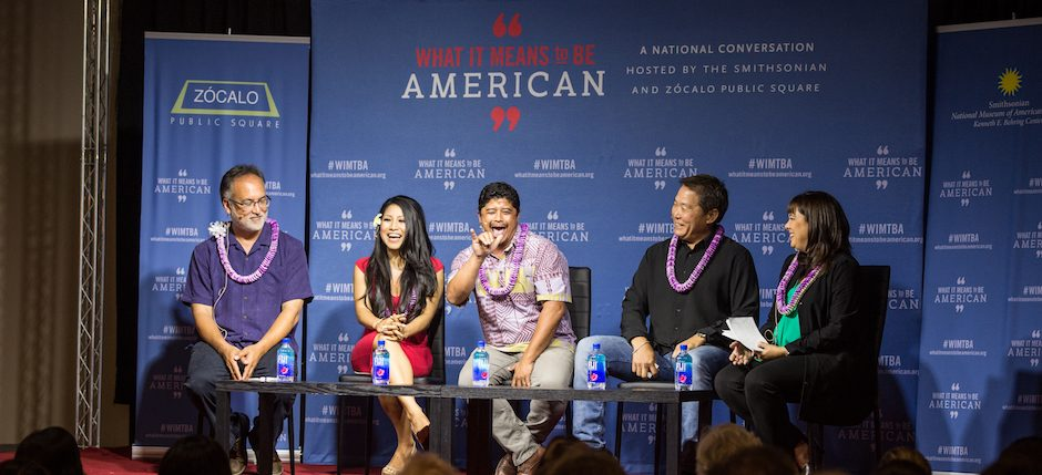 """From a Smithsonian/Zócalo """"What It Means to Be American"""" event, supported by the Daniel K. Inouye Institute, """"Does Hawaii Have America's Strongest Sense of Identity?"""""""