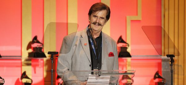 "Producer Rick Hall, the ""father of the Muscle Shoals sound,"" attends The 56th Annual Grammy Awards in Los Angeles in January, 2014. Photo courtesy of Todd Williamson/Associated Press."