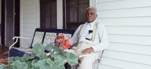 James Lyles, 69, one of the descendants of former slaves who bought the Alabama cotton plantation where they'd formerly toiled. Lyles and other descendants held the property in common and undivided, to be shared by all the heirs. Photo courtesy of Sydney Nathans.