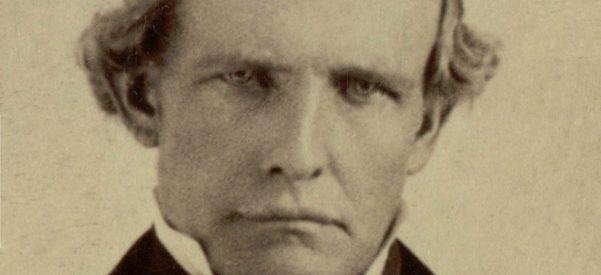 Peter Hardeman Burnett, first Governor of California, circa 1860. Photo courtesy of Wikimedia Commons.